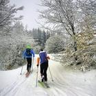 Skialpové trasy na Východní Moravě